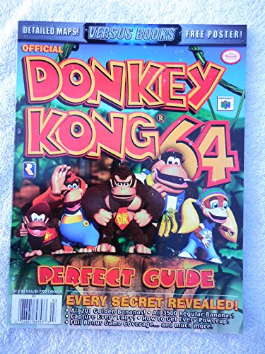 9780733616471: Versus Books Donkey Kong 64 (Versus Books Perfect Guide)