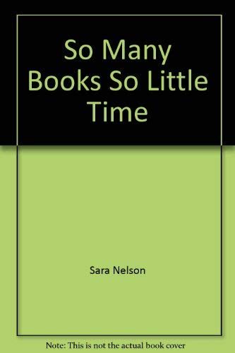 9780733618505: So Many Books So Little Time