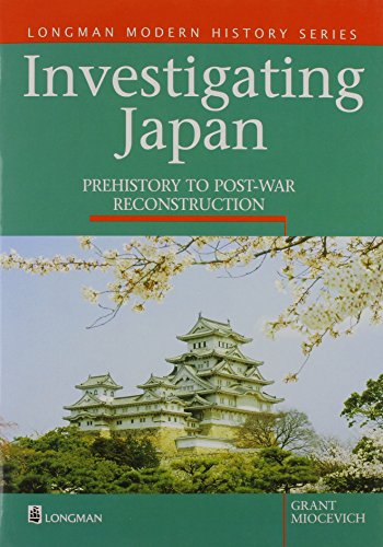 9780733901638: Investigating Japan: Prehistory To Postwar