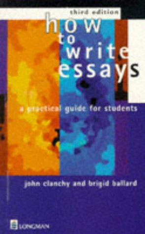 9780733903946: How to Write Essays: A Practical Guide for Students