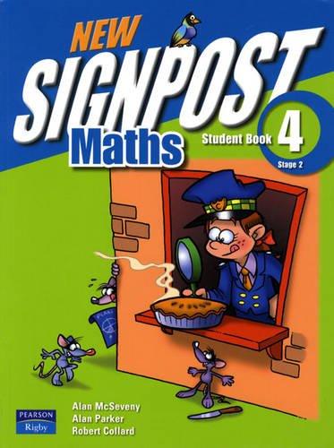 9780733965845: New Signpost Maths Student Book 4