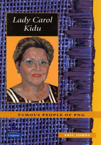 Lady Carol Kidu: Eric Johns