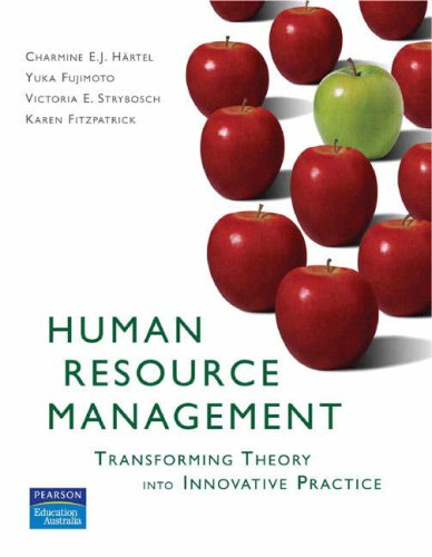 9780733976599: Human Resource Management: Transforming Theory into Innovative Practice