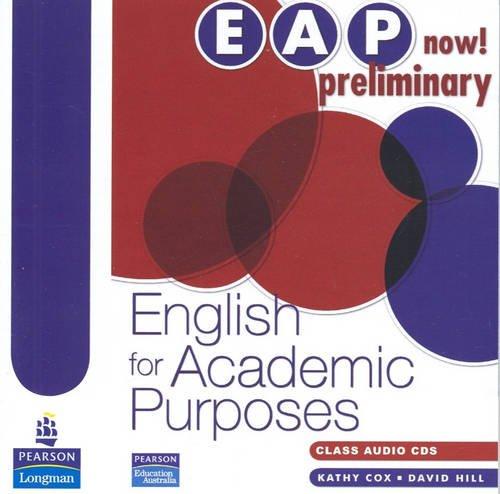 9780733978104: Eap Now! Preliminary Audio CD