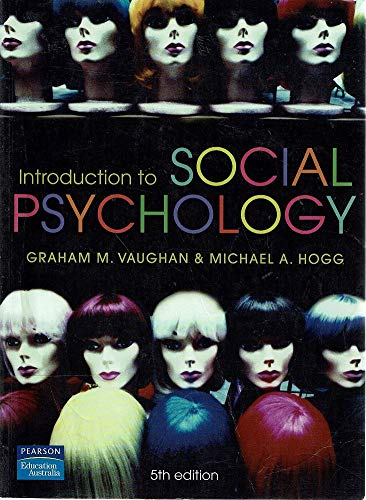 9780733982477: Introduction to Social Psychology