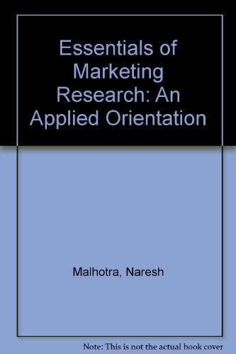 9780733984211: Essentials of Marketing Research: An applied orientation
