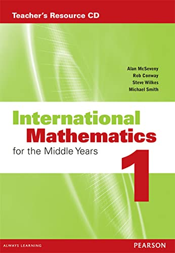 9780733985041: International Mathematics for the Middle Years 1 Teacher's Resource CD