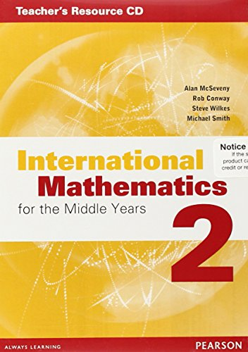 9780733985065: International Mathematics for the Middle Years 2 Teacher's Resource CD