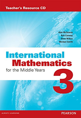 9780733985249: International Mathematics for the Middle Years 3 Teacher's Resource CD