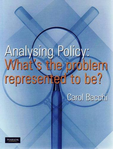 9780733985751: Analysing Policy