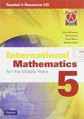 9780733985935: International Mathematics for the Middle Years 5 Teacher's Resource CD