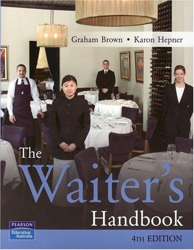 The Waiter's Handbook (Paperback): Karon Hepner