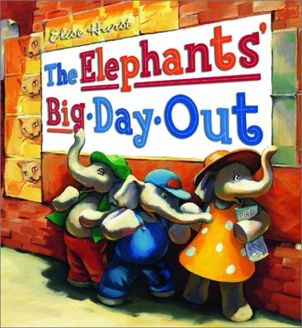 9780734405500: The Elephants' Big Day Out