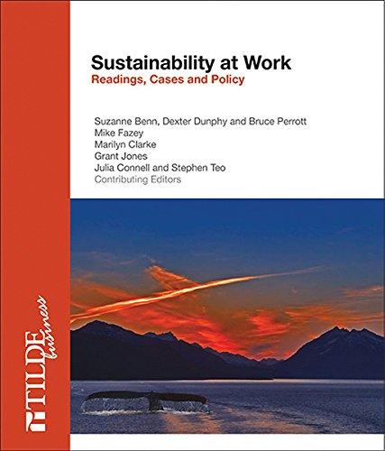 Sustainability at Work: Benn, Suzanne