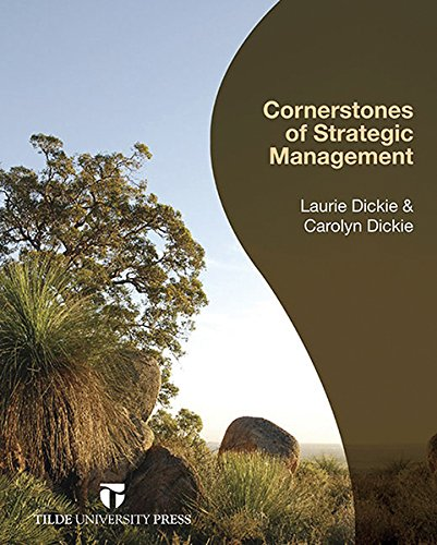 9780734610232: Cornerstones of Strategic Management