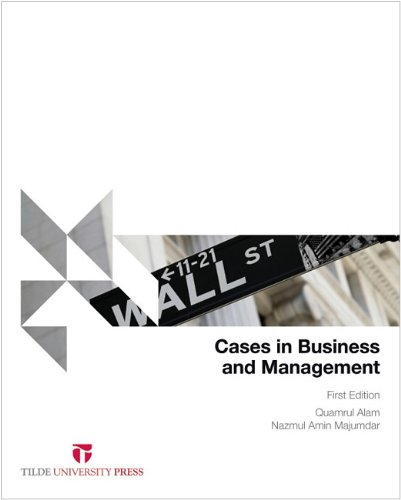 9780734610751: Cases in Business and Management