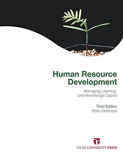 Human Resource Development (Paperback): Brian L. Delahaye