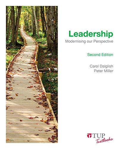 9780734611543: Leadership: Modernising our Perspective (Tilde Textbooks)