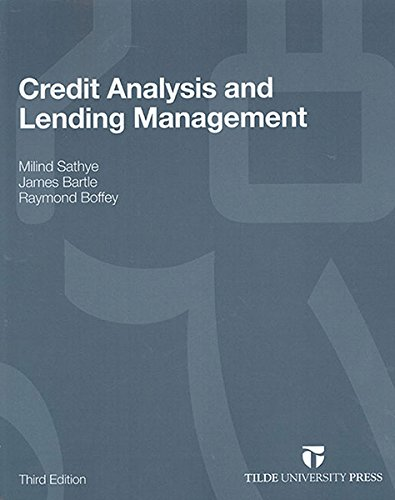 9780734611642: Credit Analysis and Lending Management