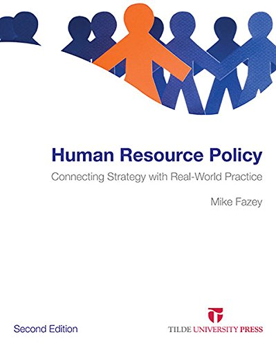 9780734611857: Human Resource Policy: Connecting Strategy with Real-World Practice