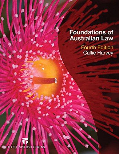 9780734611918: Foundations of Australian Law