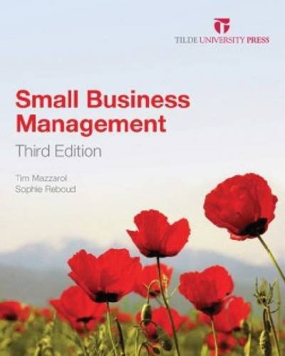 9780734612243: Small Business Management