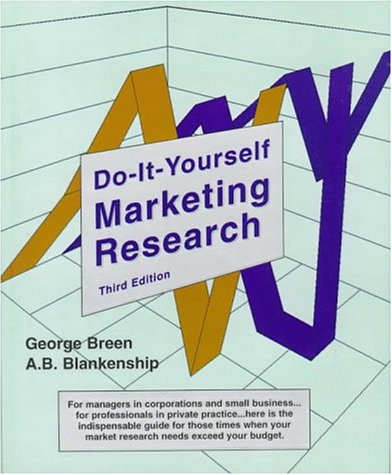9780735100398: Do-It-Yourself Marketing Research