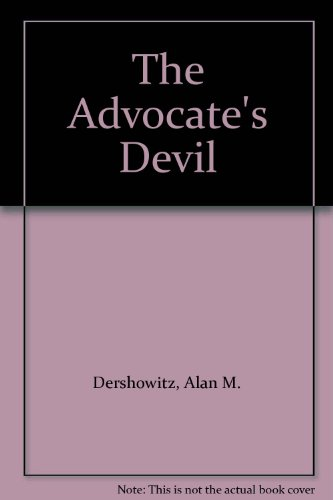 9780735100664: The Advocate's Devil