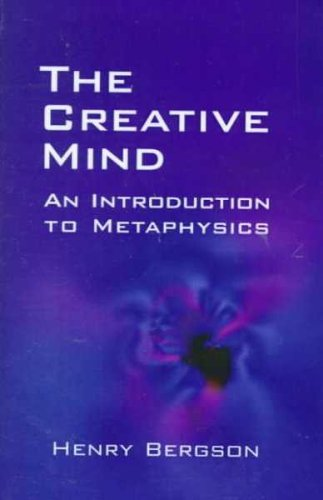 9780735100725: The Creative Mind: An Introduction to Metaphysics