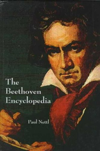 9780735101135: The Beethoven Encyclopedia