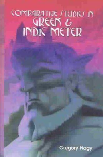 9780735105492: Comparative Studies in Greek and Indic Meter