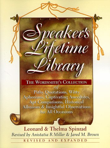 9780735200203: Speaker's Lifetime Library