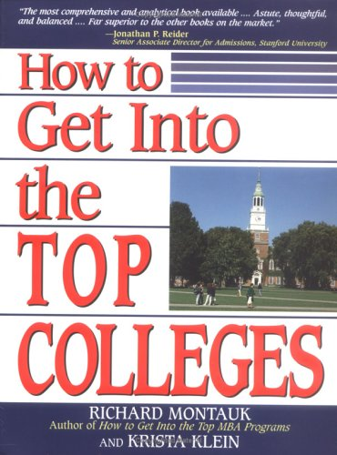 9780735201002: How to Get Into the Top Colleges