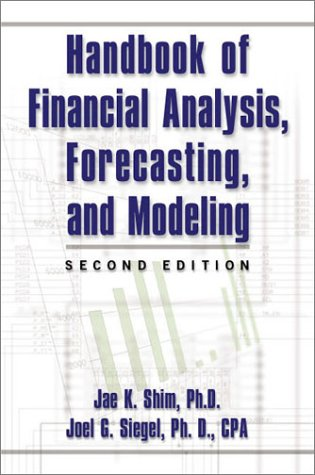9780735202085: Handbook of Financial Analysis, Forecasting and Modelling