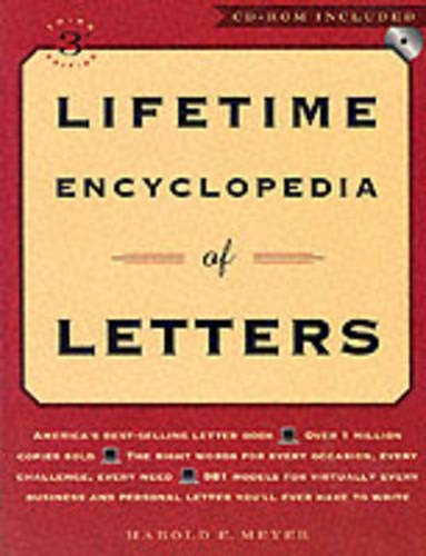 9780735202184: Lifetime Encyclopedia Of Letters, Third Edition, With Cd-Rom