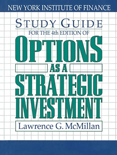 9780735202382: Options as a Strategic Investment Study Guide