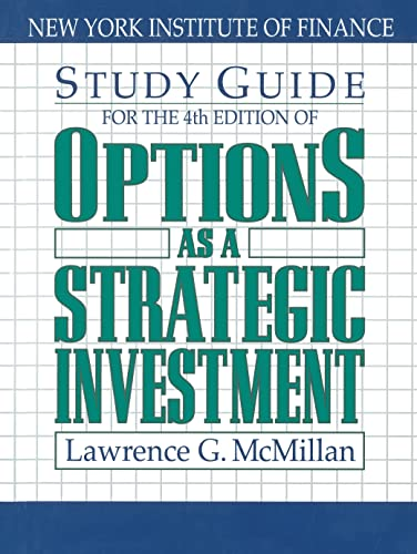 9780735202382: Options As a Strategic Investment