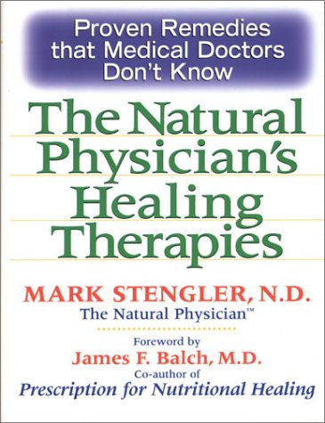 9780735202504: The natural Physician's Healing Therapies