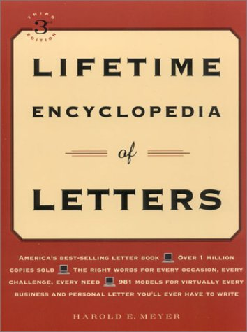 Lifetime Encyclopedia of Letters: Meyer, Harold E.
