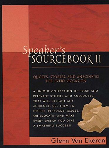 9780735202818: Speakers Sourcebook II: Bk.2