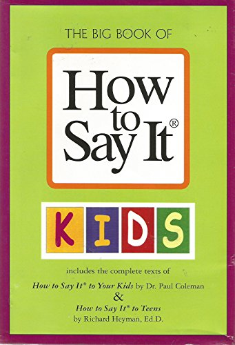 9780735204034: The Big Book Of How To Say It (How To Say It And How To Say It At Work)