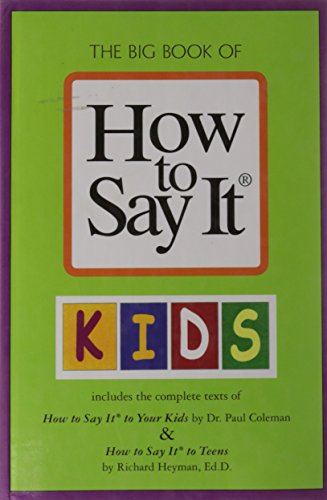The Big Book of How to Say: PAUL COLEMAN