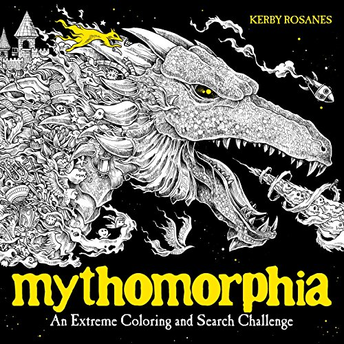 9780735211094: Mythomorphia: An Extreme Coloring and Search Challenge