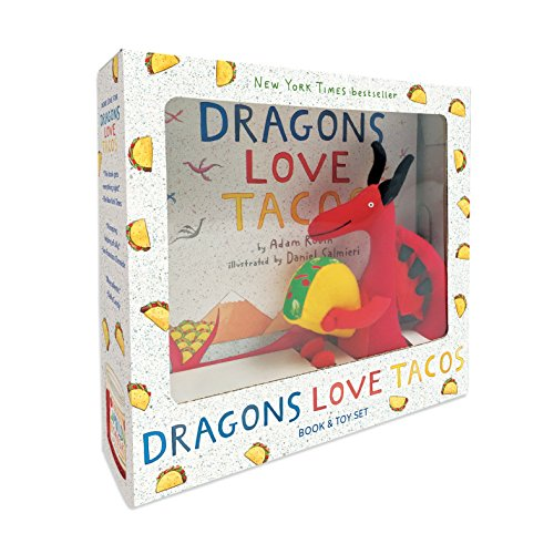 9780735228238: Dragons Love Tacos. Book and Toy (Book & Toy)