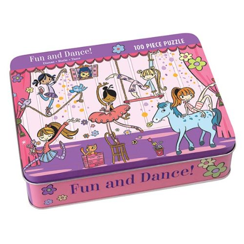 9780735304543: Fun and Dance! 100 Piece Puzzle Tin