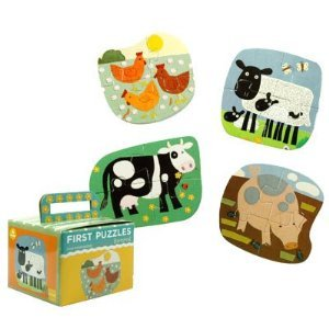 9780735308350: First Puzzle: Barnyard: Four Shaped Puzzles-four Pieces Each