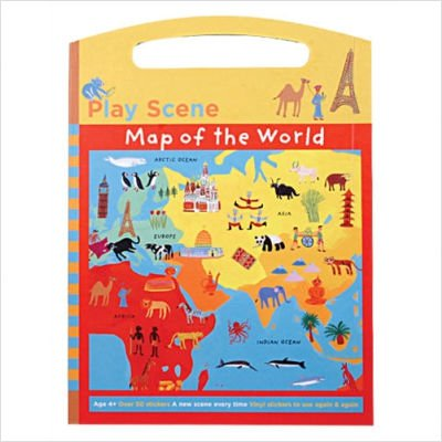 9780735308985: Map of the World Play Scene (Travel Round the World)