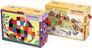 9780735316386: Elmer: One/Many Two Sided Puzzle