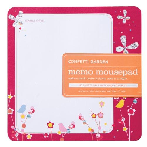 9780735321199: Confetti Garden Memo Mousepad