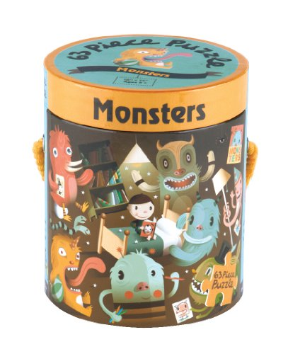 9780735324077: Monsters 63 Piece Puzzle